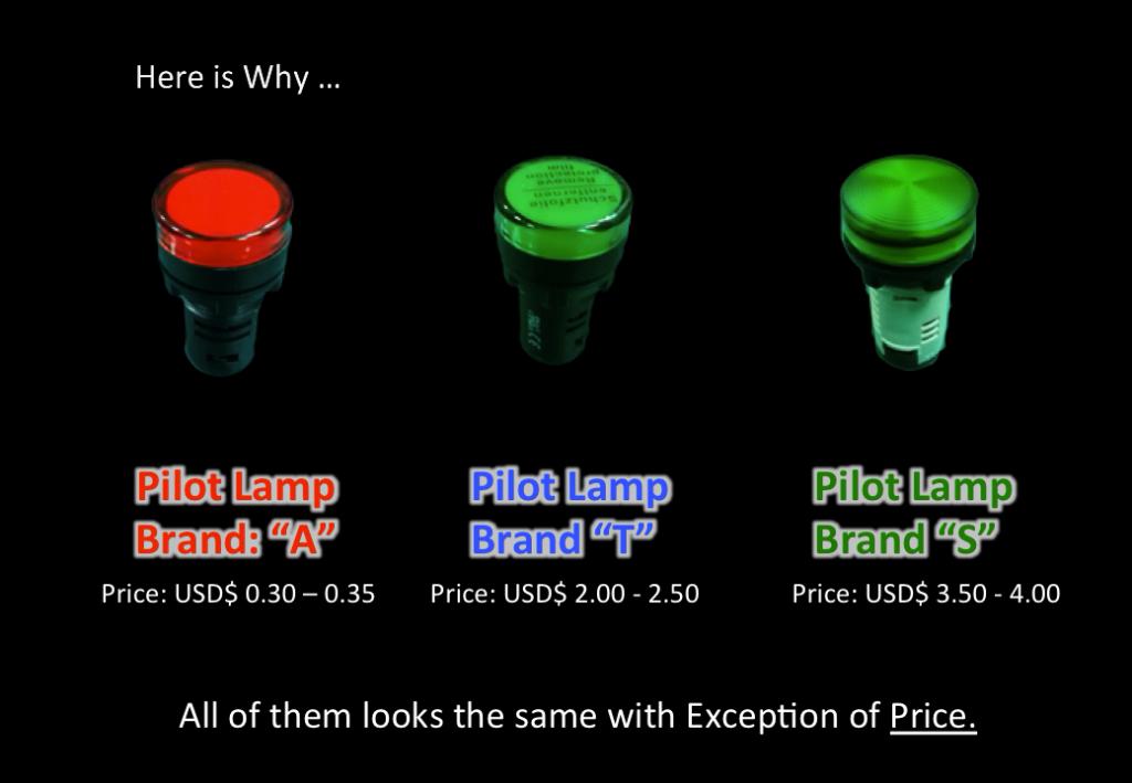 Pilot Lamp Comparison